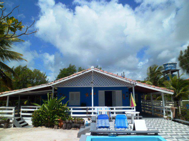 maison de plage standard avec piscine
