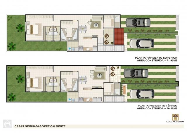 Duplex avec garage