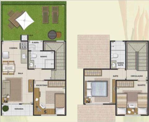 Maison en duplex avec balcon