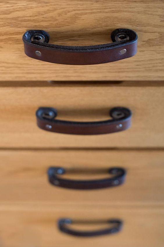 les types de poignées pour les meubles