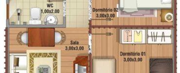 1584757691 694 Plantes de maisons de 4 pieces
