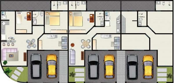 Maison jumelée 6