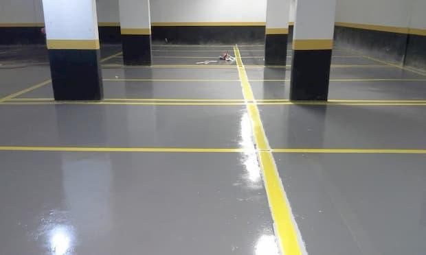 peinture époxy pour garage