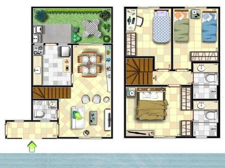 Plans de maisons en duplex