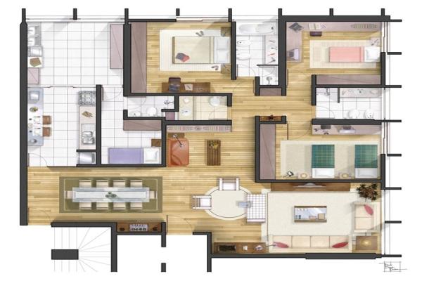 Maison contemporaine 4