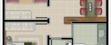 1585855460 71 Plans de maison avec 2 chambres