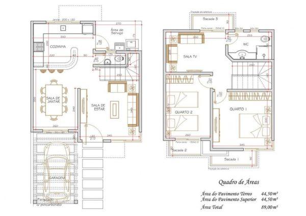 modèles de maisons en rangée