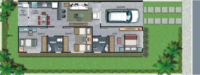 Plan des maisons américaines