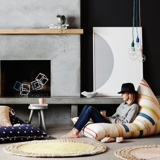 Un tapis au crochet moderne et coloré !