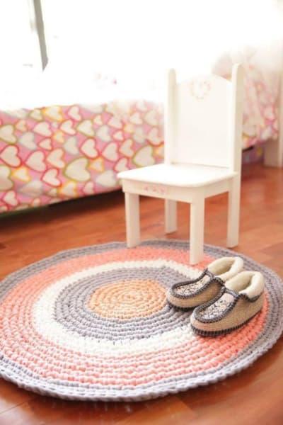 tapis à cordes quatrième enfant hiver