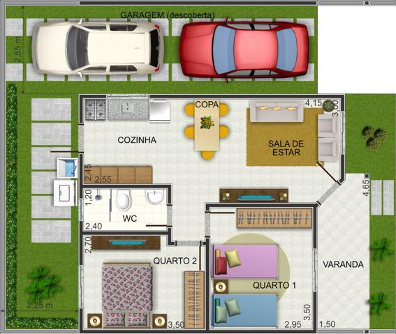 Plans de maison jusqua 60m2 3 modeles