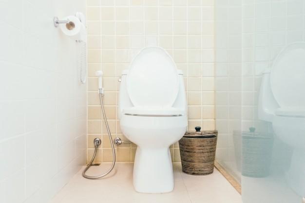 papier peint de la salle de bains