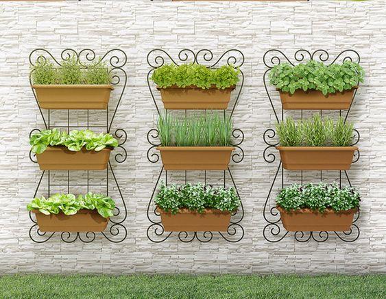jardin plat