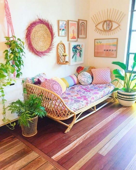 décoration tropicale chic