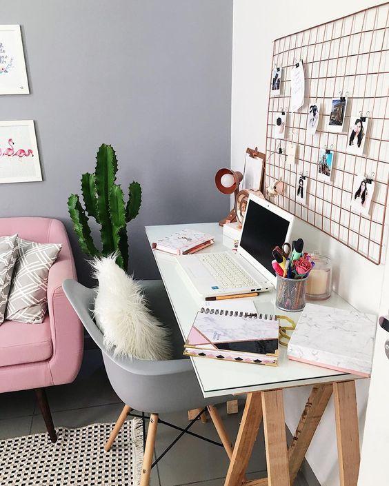 tumblr décoration du bureau à domicile