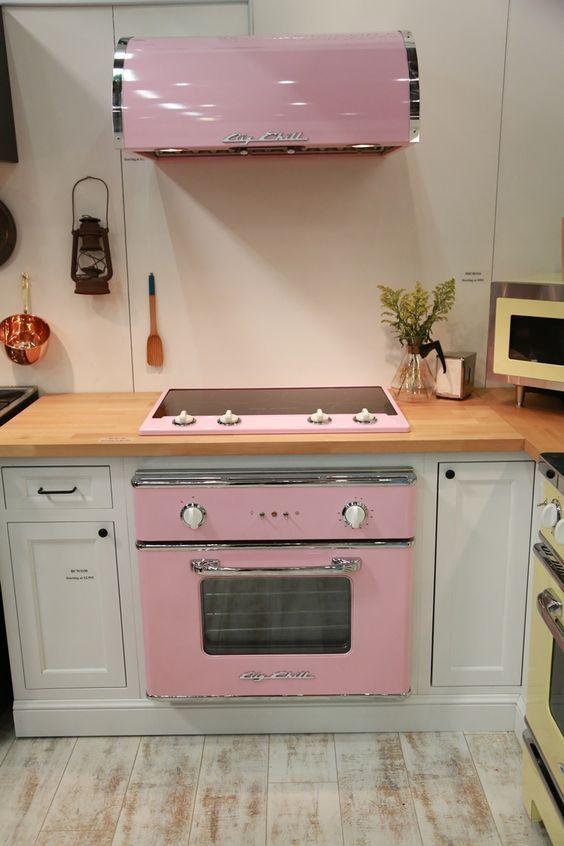 décoration de cuisine rétro