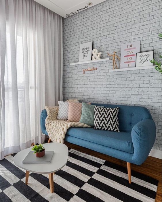 la décoration rétro des chambres