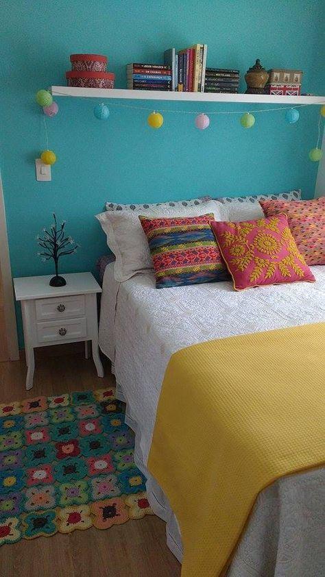 décoration rétro de la chambre à coucher