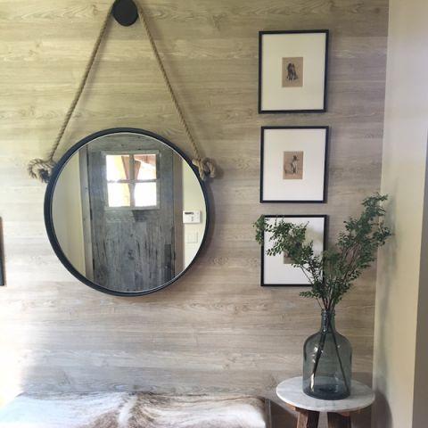 décoration de miroir adnet