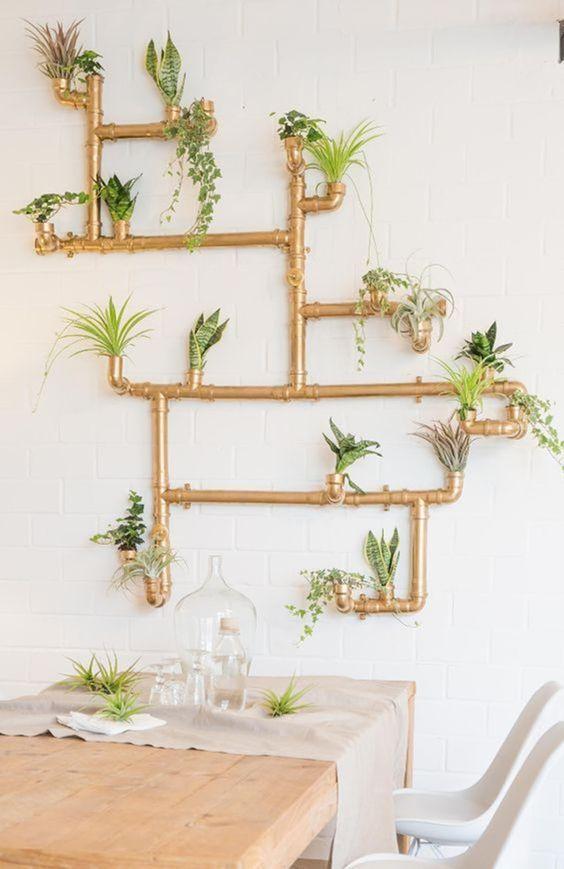 décoration intérieure avec des plantes