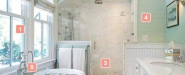Ванная в стиле прованс особенности #дизайн #дизайнванной