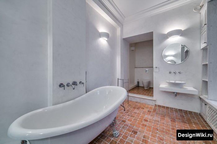Style provençal moderne dans la salle de bain