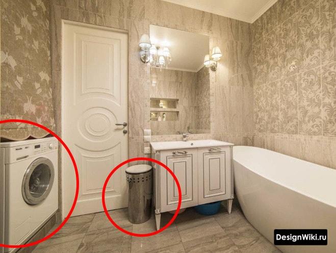 Contre du style provençal pour la salle de bain