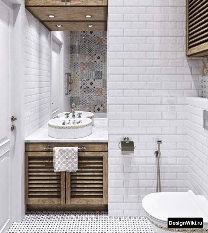 L'alliance de la Provence et du minimalisme dans la salle de bain
