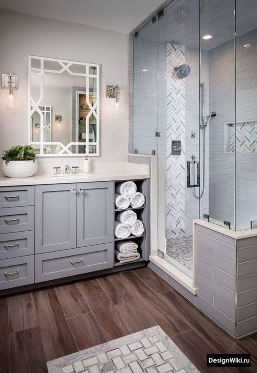 Rangement de salle de bain classique