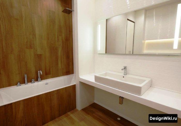 Vaut-il la peine de choisir un carrelage pour une salle de bain sans coutures?