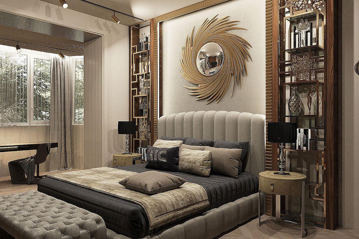 photo intérieure de chambre à la mode 16