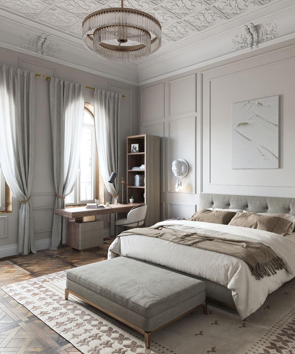 photo intérieure de la chambre à la mode 8