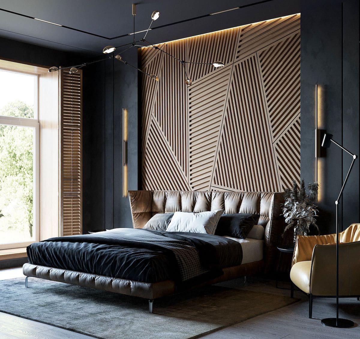 photo intérieure de chambre à la mode 11