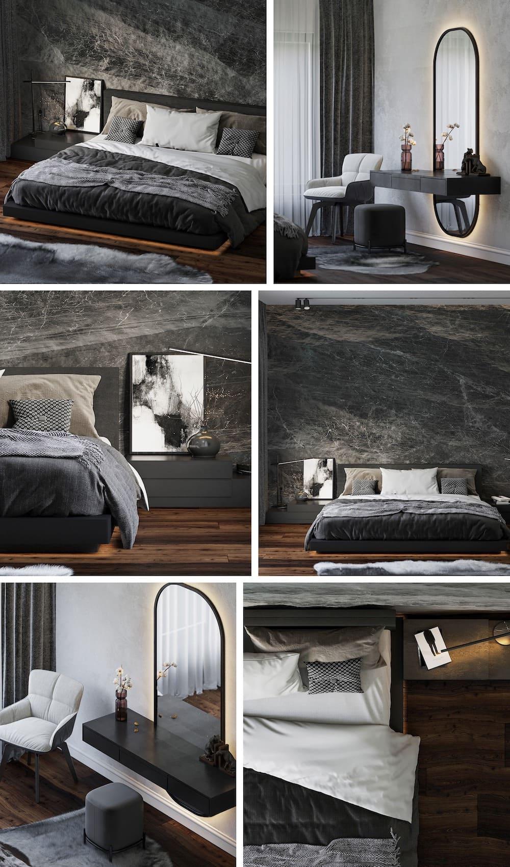 photo de conception de chambre à la mode 1