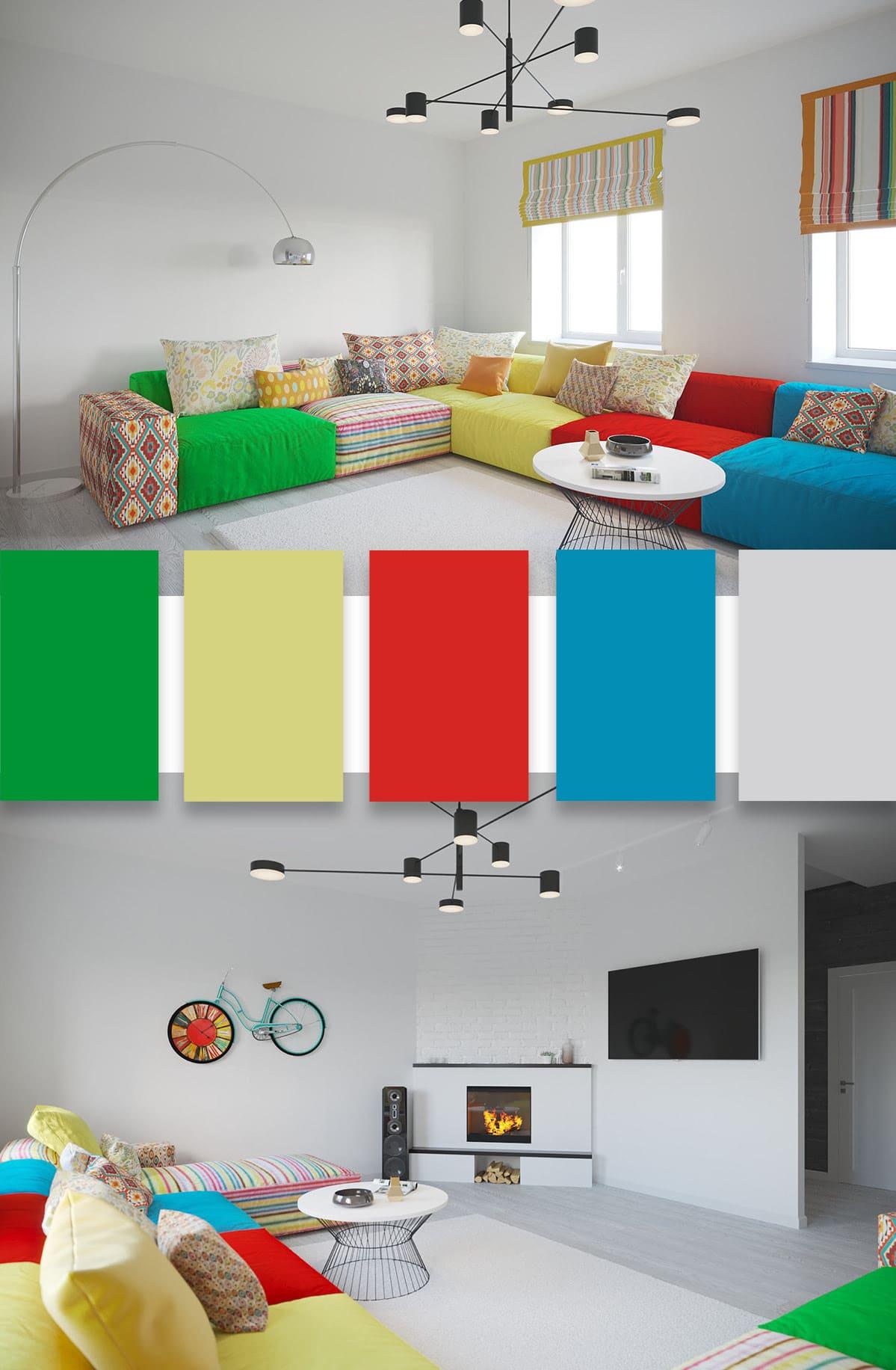 idées de design de salon 3