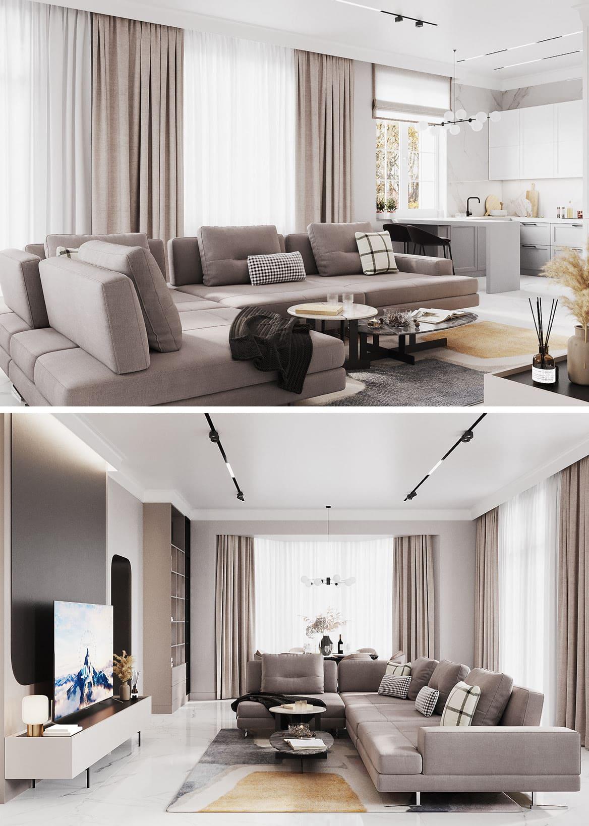 idées de design de salon 6