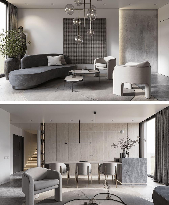 idées de design de salon 17