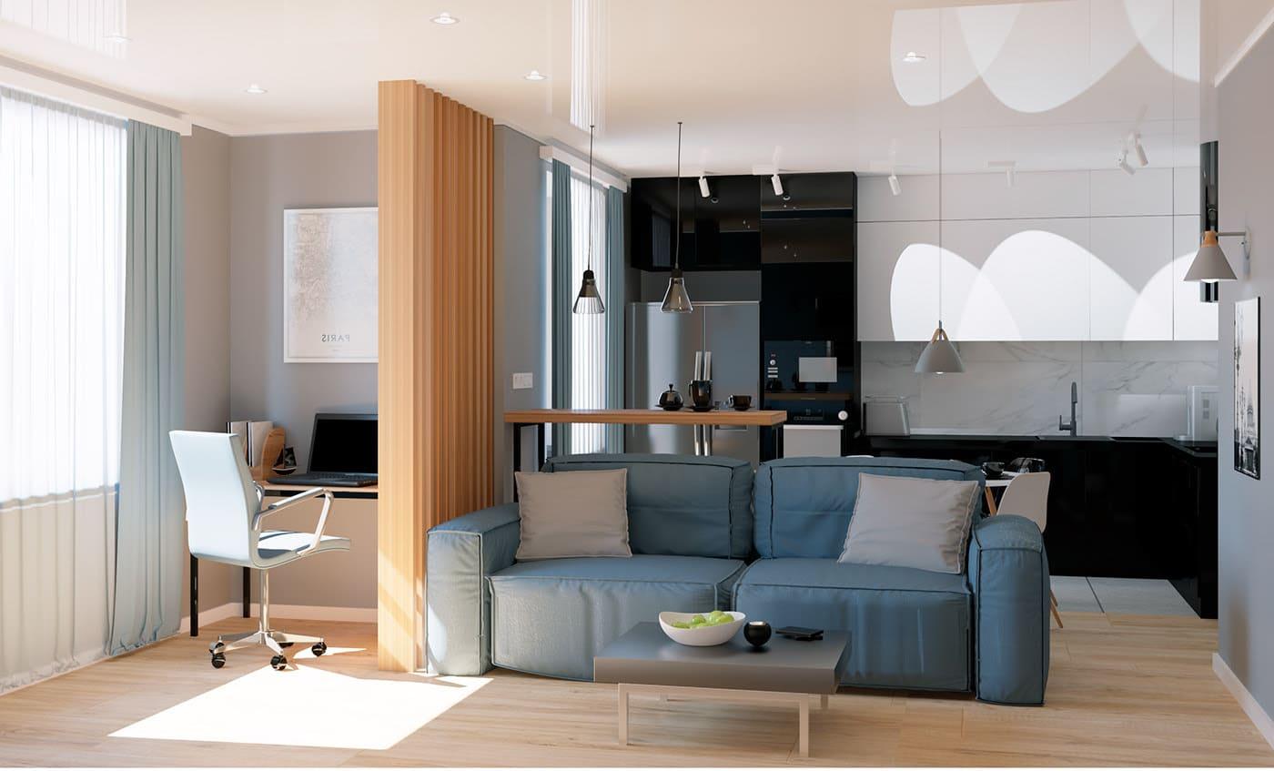 idées de design de salon 32