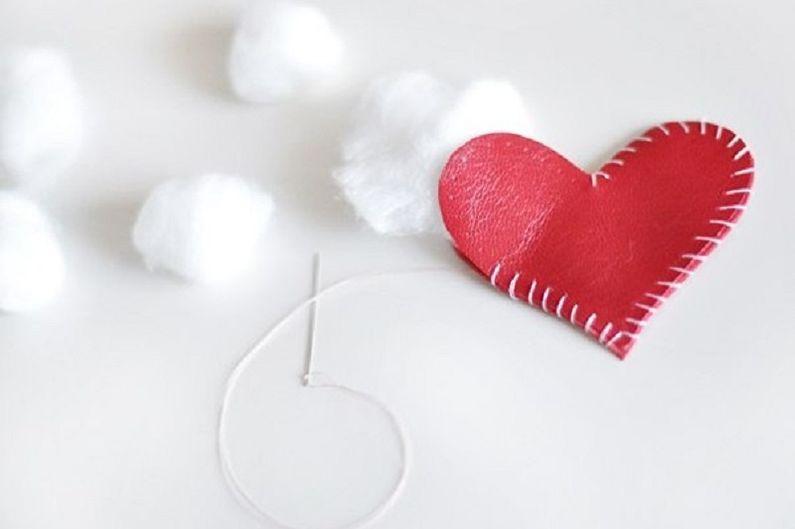 Cadeau DIY du 14 février - Porte-clés coeur