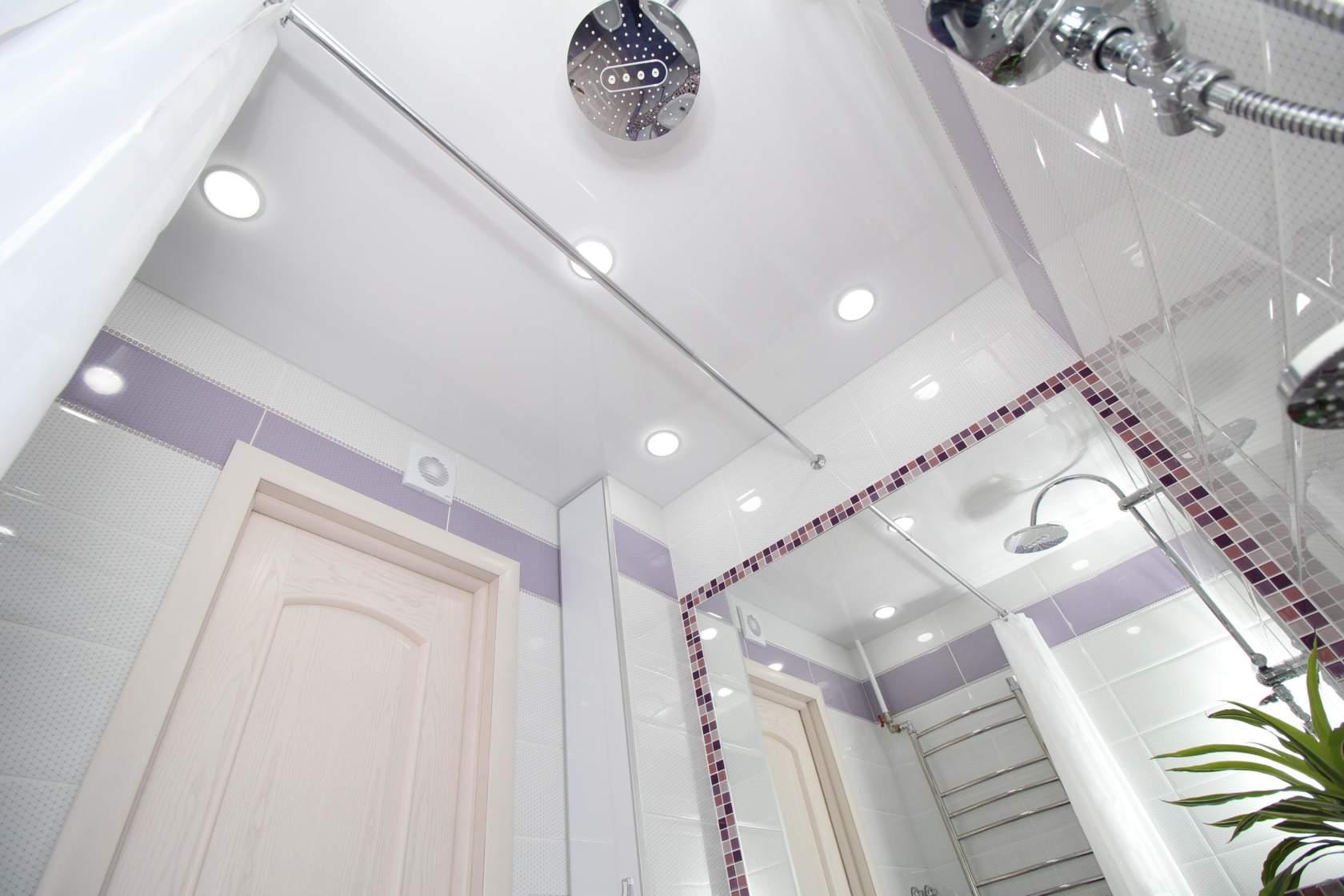 Design de salle de bain violet: exemples de photos réelles et idées de design
