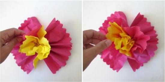 Fleur de serviette