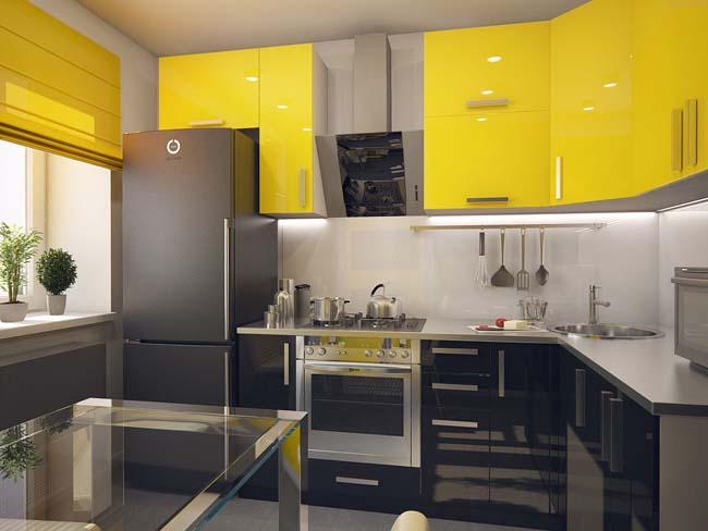 armoire au-dessus du réfrigérateur