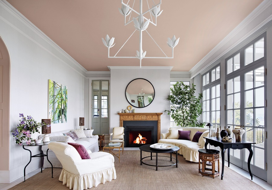 plafond-décoration-peinture