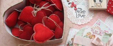 Как сделать подарок своими руками на 14 февраля
