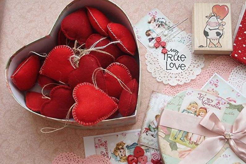 Comment faire un cadeau de vos propres mains le 14 février