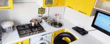 Очень маленькая кухня - фото, дизайн
