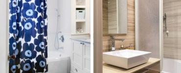 Что лучше стекло в ванную комнату или шторка?