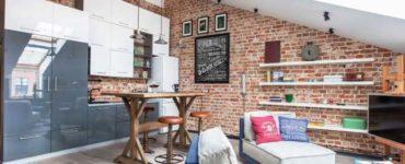 1614938116 580 Petite cuisine de style loft