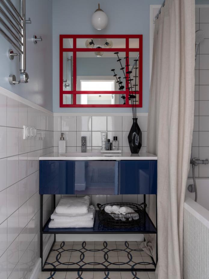 meubles de salle de bain lumineux