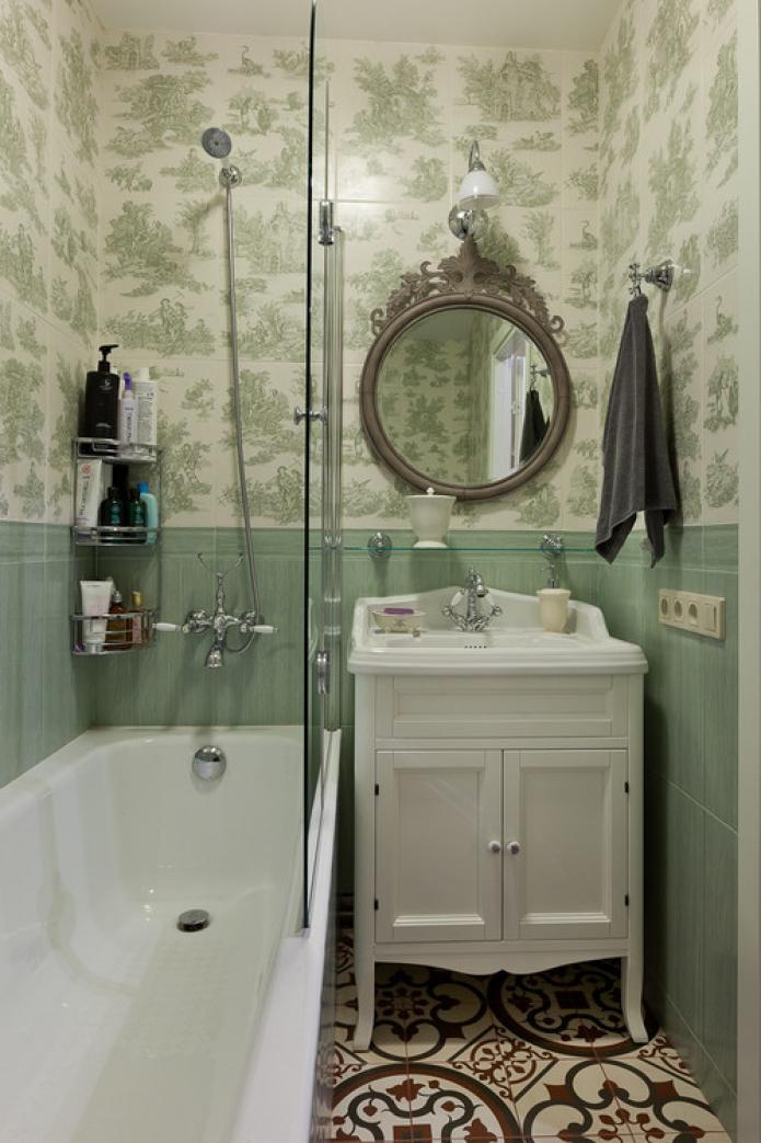 salle de bain de style provençal